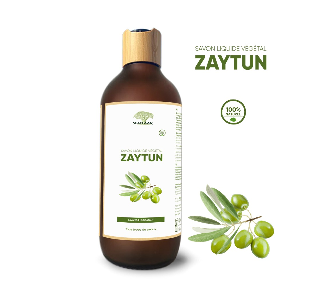 Savon Liquide Végétal ZAYTUN